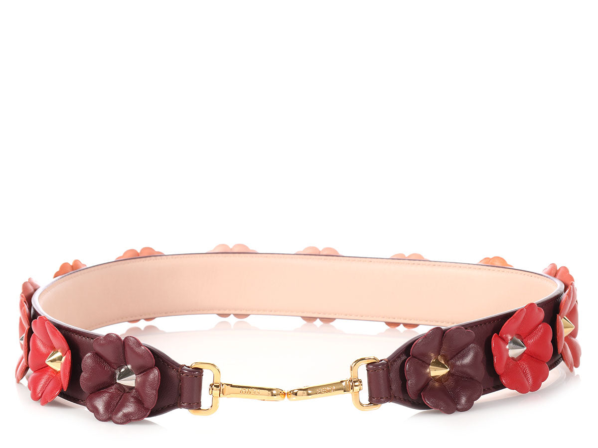 Fendi Strap You Studded Flowerland Strap