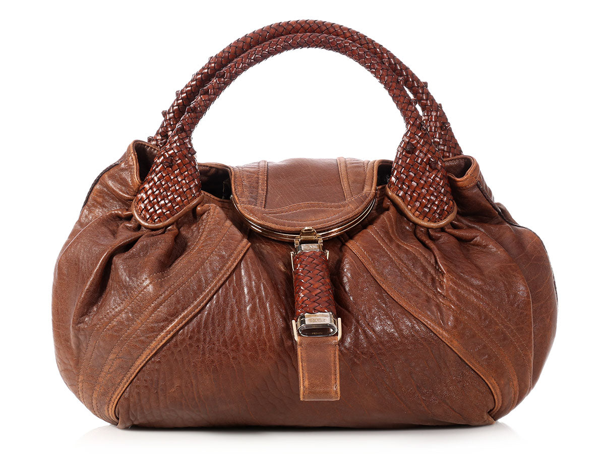 Fendi Brown Spy Bag