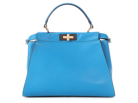 Fendi Medium Blue Peekaboo