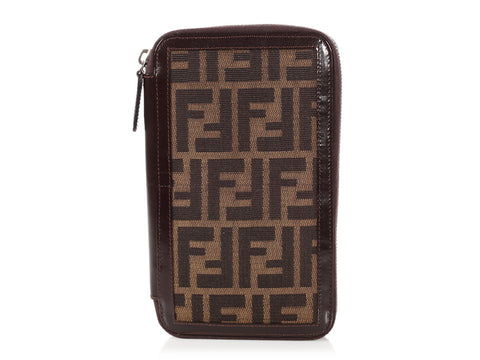 058286d636a8 Fendi Large Monogram Zippy Wallet