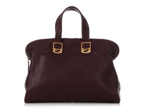 Fendi Large Plum Chameleon
