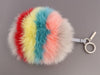 Fendi Multicolor Fur Pom-Pom Bag Charm