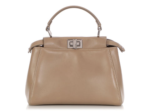 Fendi Mini Dove Gray Peekaboo