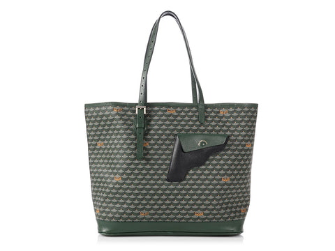 Fauré Le Page Medium Green Daily Battle Tote