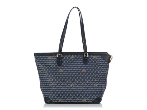 Fauré Le Page Large Navy Zipped Daily Battle Tote 37
