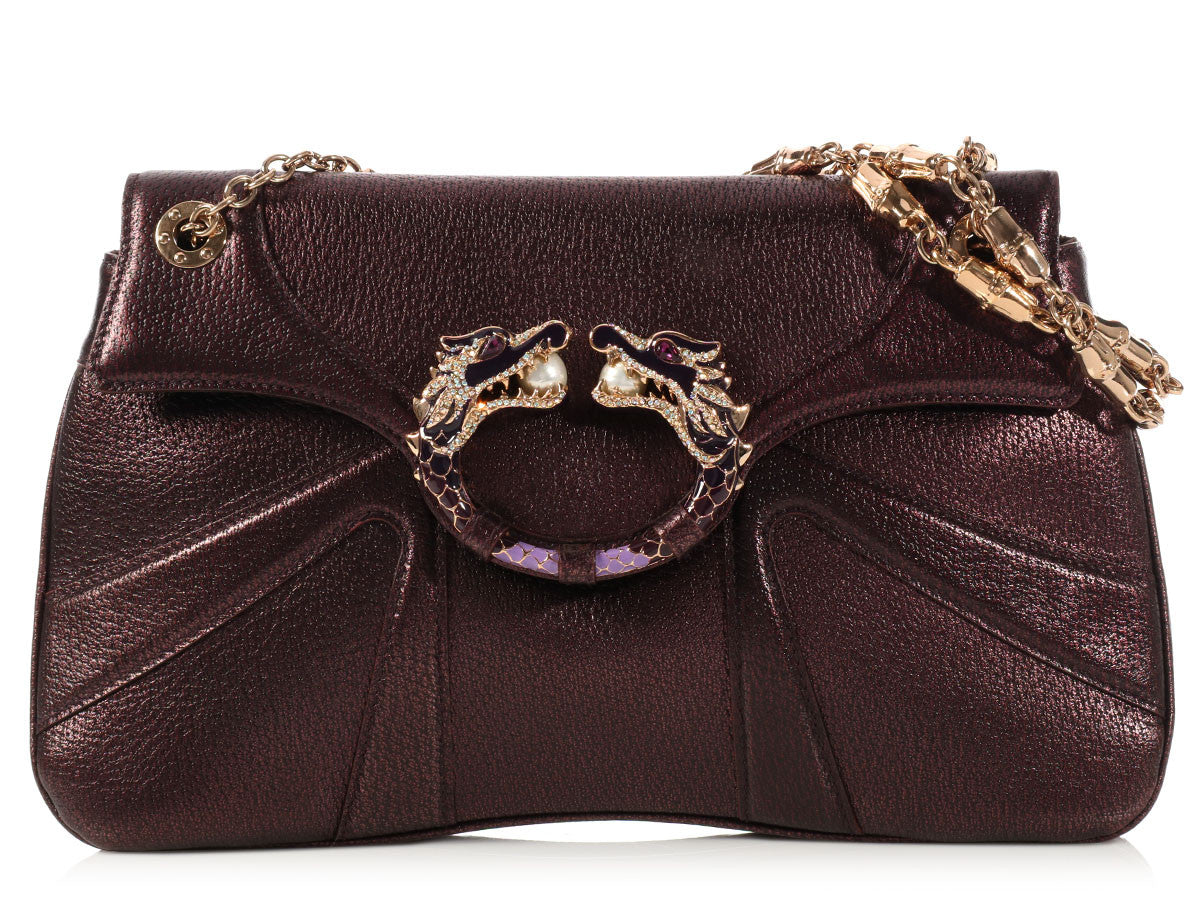 Gucci Plum Dragon Bag