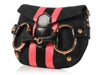 Gucci Black GG Horsebit Mini Clutch