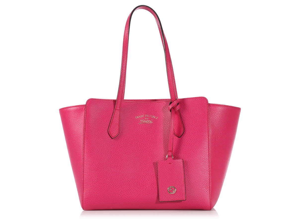 Gucci Hot Pink Swing Tote