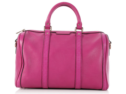 Gucci Hot Pink Boston Bag