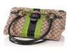 Gucci Monogram and Alligator Snake Head Tote