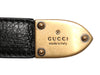 Gucci Black Studded Wrap-Around Belt