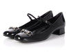 Gucci Black Horsebit Mary Jane Regent Shoes