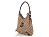 Gucci Small Brown Monogram Abbey Hobo