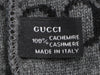 Gucci Black and Gray Cashmere Beanie