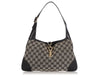 Gucci Black GG Canvas Jackie Shoulder Bag