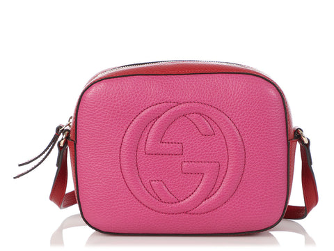 Gucci Red and Pink Soho Disco