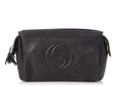 Gucci Black Soho Clutch