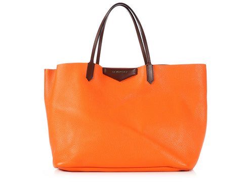 Givenchy Large Orange Antigona Tote