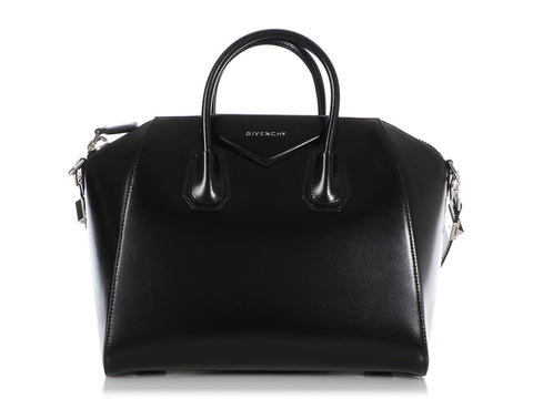Givenchy Large Black Shiny Lord Antigona