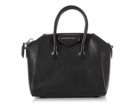 Givenchy Mini Black Sugar Goatskin Antigona