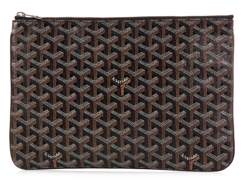 Goyard Black Senat MM