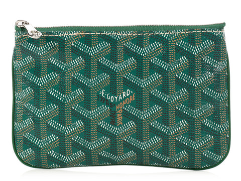 Goyard Green Mini Senat PM