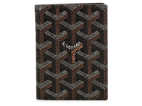 Goyard Black St. Marc Card Case