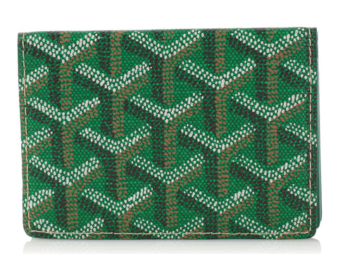Goyard Green St. Marc's Card Case