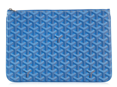 Goyard Blue Senat MM