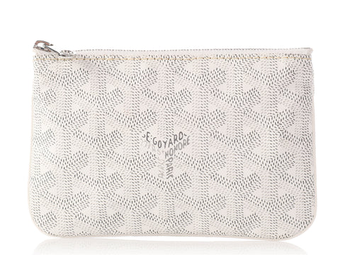 Goyard Small White Senat