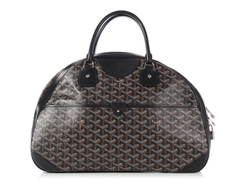Goyard Black Jeanne Bowling Bag GM