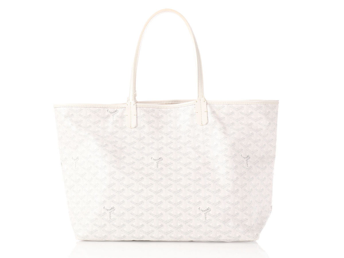 Goyard White Saint Louis Tote PM