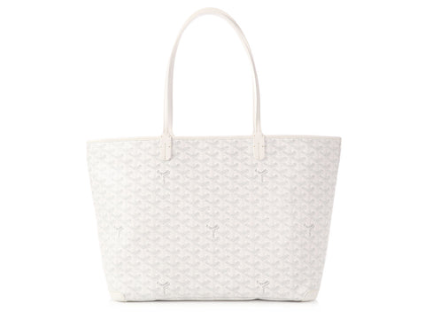 Goyard White Monogram Canvas Artois MM