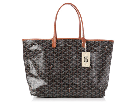 Goyard Black and Tan St. Louis Tote PM