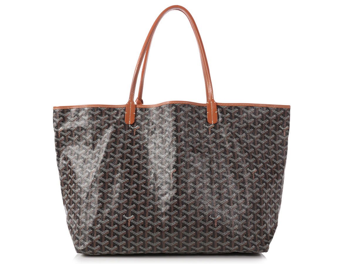 Goyard Black Saint Louis Tote GM
