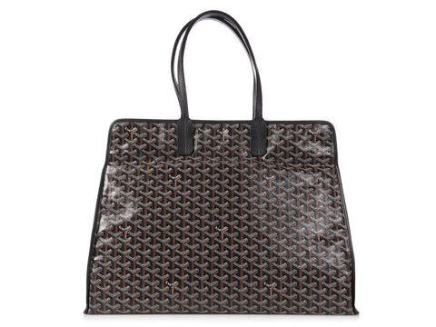 Goyard Black Sac Hardy Tote GM