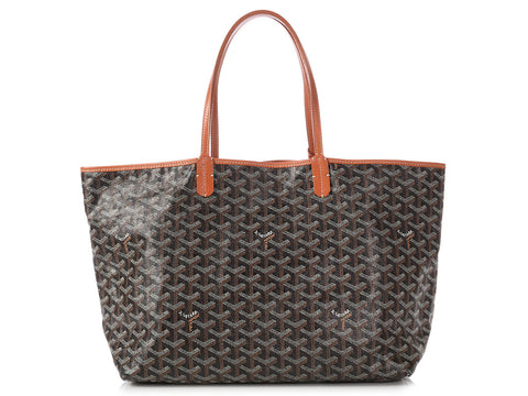 Goyard Black Saint Louis Tote PM