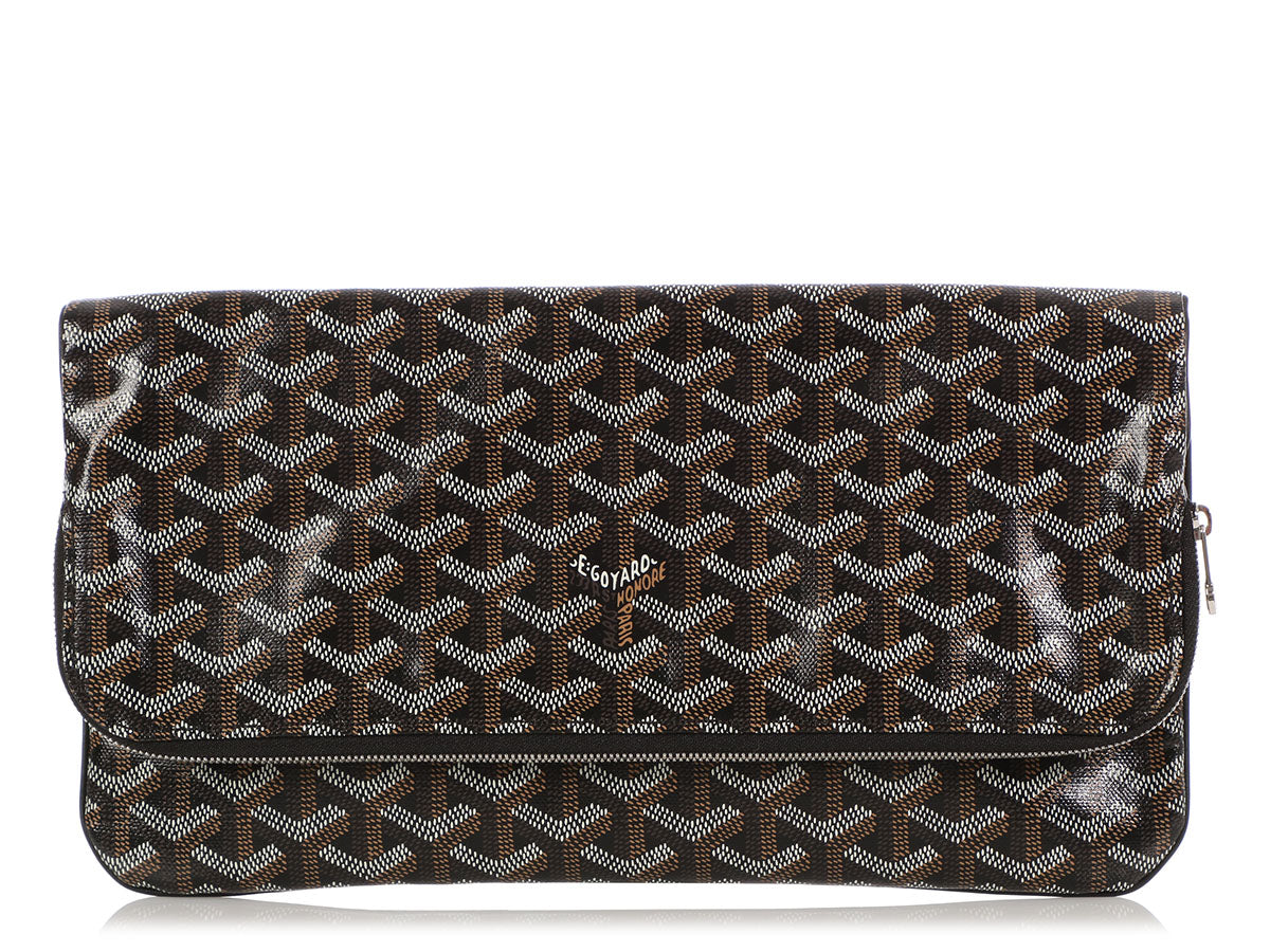 Goyard Black Monogram Canvas Sainte-Marie Clutch