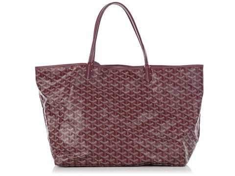 Goyard Burgundy Saint-Louis GM