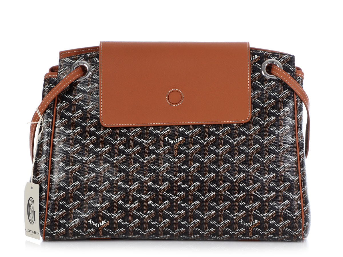 Goyard Black Rouette Crossbody
