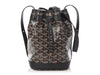 Goyard Black Petite Flot Bucket Bag PM