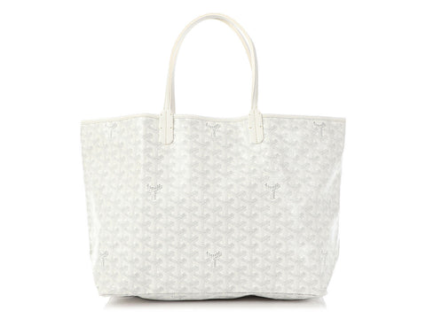 Goyard White Saint-Louis PM