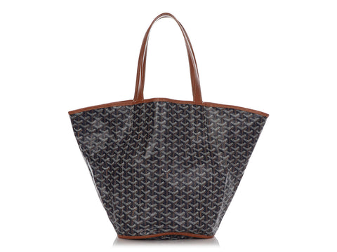 Goyard Black Sac Belharra Reversible Tote MM