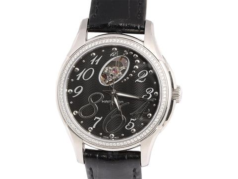 Hamilton JazzMaster Diamond Ladies Watch 36mm