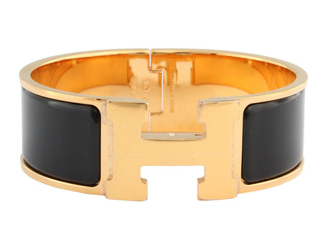 Hermès Wide Black Clic H PM