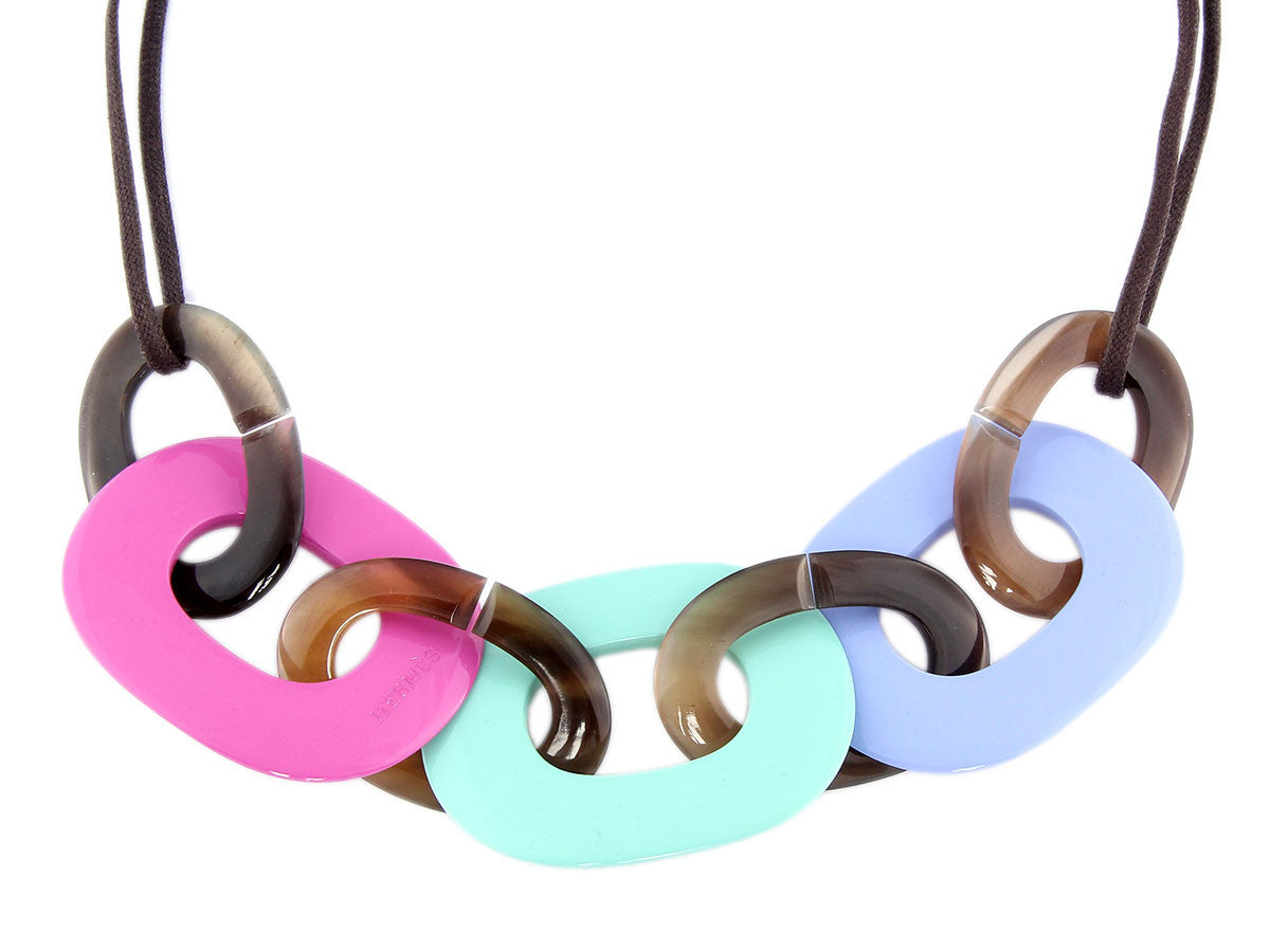 Hermès Karamba Lacquered Necklace