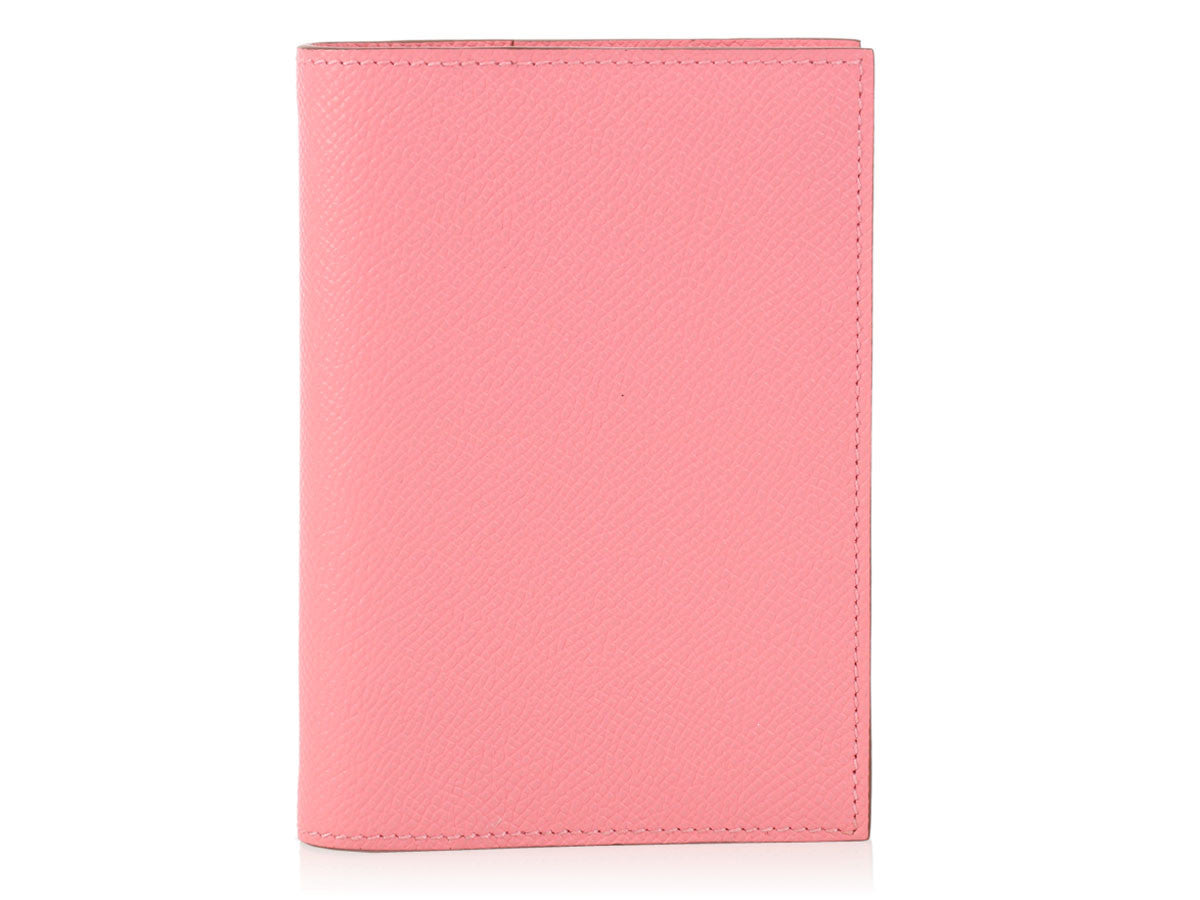Hermès Rose Confetti Agenda Cover GM