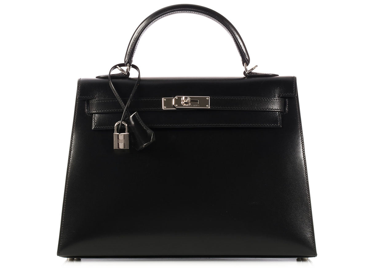Hermès Black Kelly 32