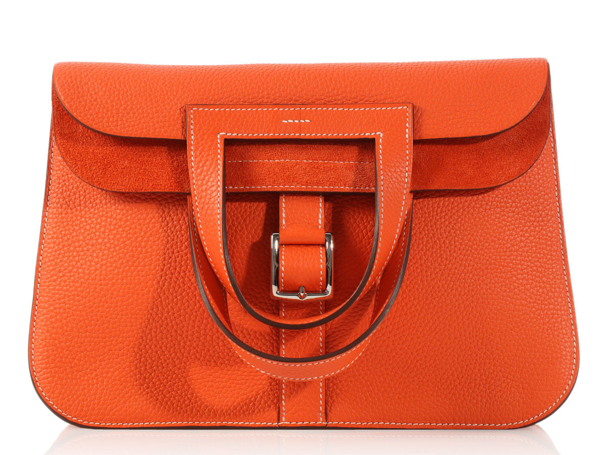 Hermès Orange Halzan GM
