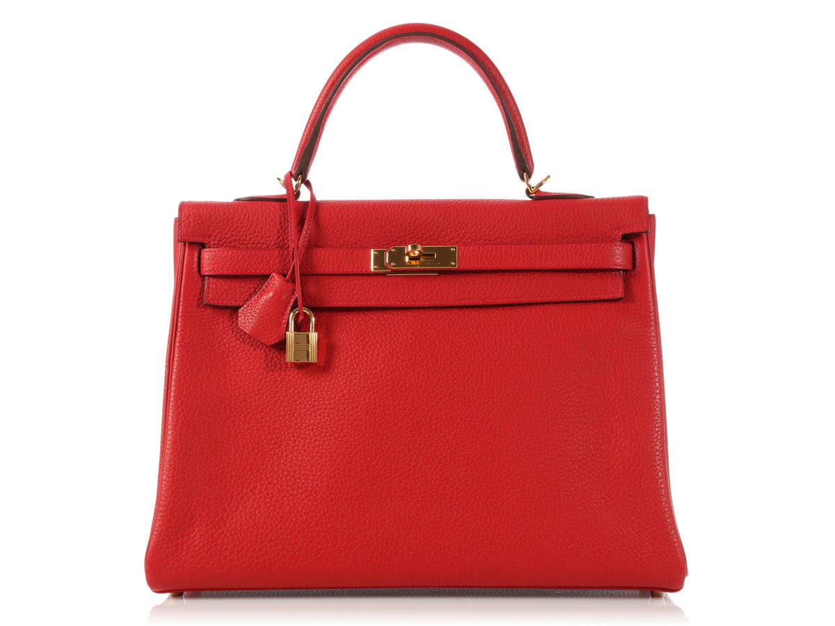 Hermès Rouge Casaque Kelly 35